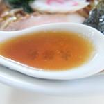 大勝軒 - スープ