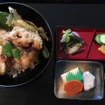 嵐山館 - 精進料理:野菜てんぷら丼