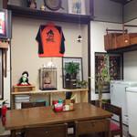中西食堂 - お相撲押しの一角