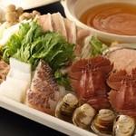 肉 TO 海老 春夏冬 -