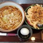 58522005 - そば定食(ミニ天丼) 520円