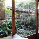 手ぬぐいカフェ 一花屋 - 窓からの眺め