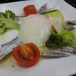 58523990 - 洋皿:太刀魚カルパッチョ。