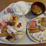 むさし - 朝食バイキング。