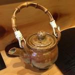 江戸前晋作 - 鮪茶漬けの煎茶