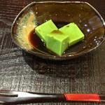 江戸前晋作 - 抹茶の葛餅