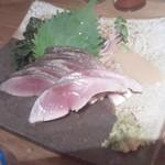 虎食堂 - 〆鯖が生々しい!!