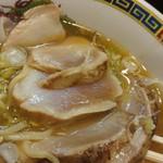 ラーメン哲史 - 醤油ワンタン-鶏の焼霜増し(2016/10)