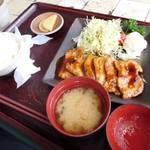 レストラン北斗庵 - 生姜焼き定食