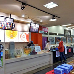松月堂 - 会計カウンター & ドリンクスタンド(2016年11月)