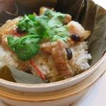 58531044 - 豚スペアリブの中国味噌蒸しのせご飯2