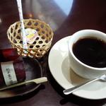 さむ - 利平栗の渋皮煮とコーヒーのセット