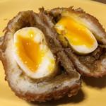 58532645 - 半熟卵カレーパン