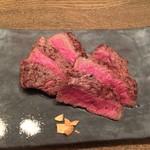 肉洋食オオタケ - ラムシンステーキ 100g