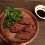 肉洋食オオタケ - メンチカツ