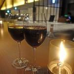 58533459 - グラスワイン 500円                       とってもリーズナブル(^^)