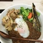 キッチン ジロー - 「DRYカリーDON」780円&「スタミナ焼」180円トッピング