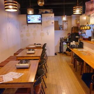 ●アットホームな雰囲気の韓国居酒屋♪