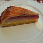 ペーパームーン - 洋梨とアーモンドのパイ