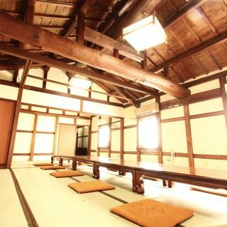 完全個室!本館5部屋、別館9部屋。