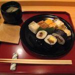 58537701 - お寿司と船場汁(2016.08)