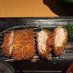 かつ彩 - 重ねかつご膳1,393円ご飯、味噌汁、キャベツおかわり自由