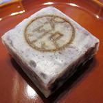 大江戸 - 料理写真:小豆きんつば