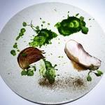 レストランディファランス - 料理写真:真鯛 新玉葱 韮 ケッパー