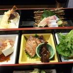 やま川 - 2段弁当