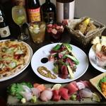 裏剣 - コース料理もあります。