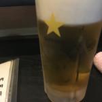 どんがらがっしゃん - 生ビール