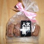 上野亀井堂 - 文楽人形焼