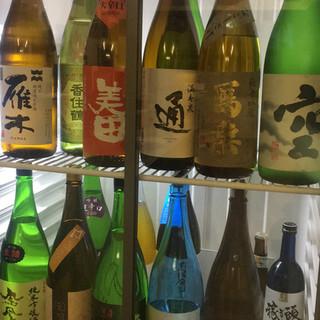 日本酒の取り揃えも豊富★