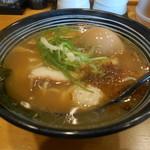 鮮魚鶏出汁麺 沢むら - 料理写真:濃厚鶏出し麺 半熟味付け玉子入り
