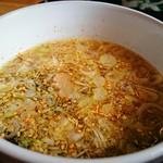 拉麺・食工房 まる家 - つけ麺スープ