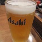 大衆居酒屋 気晴れ屋 - 生ビールで乾杯♪
