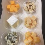 58554611 - 6種類のチーズ