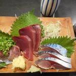 和泉屋 - 青魚3点盛り680円