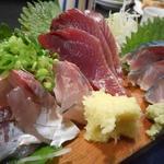 和泉屋 - 青魚3点盛り