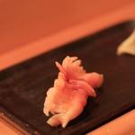 鮨 江なみ - 赤貝。