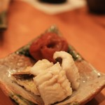 鮨 江なみ - これ、美味也。穴子の白焼き。
