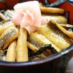 志のざき - 2016年9月 煮穴子丼。柔らかかったです~(´▽`)