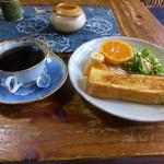 茶房 うえだ - マイルドコーヒーとモーニングサービス