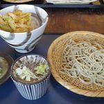 玄蕎麦河童 - ミニ丼(かき揚げ)