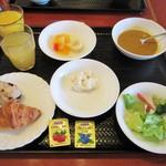 万咲 - 朝食バイキング。洋食系