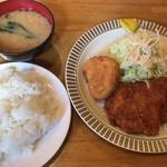 洋食 GOTOO - '16.11月 チキンカツとカニコロッケ