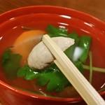 元祖本吉屋 - 定食の「きも吸」です