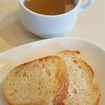 ベツ・バラーレ - スープとパン