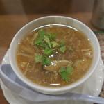 tairyourisemmontentaitai - とろみのついたスープ。野菜たっぷり。