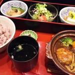 さんるーむ - ―2016.11.8― 煮込みハンバーグ御膳